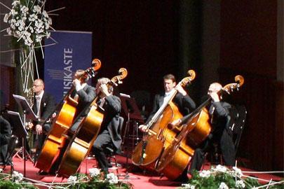 La Orquesta de Euskadi en el concierto de clausura de Musikaste