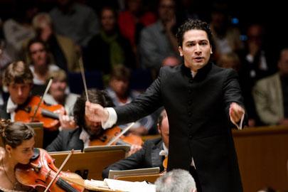 Andrés Orozco-Estrada, director musical de la Orquesta Sinfónica de la Radio de Frankfurt (hr-Sinfonieorchester)