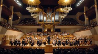 La Orquesta Sinfónica de Euskadi en el Auditorio Nacional de Madrid en el 2010