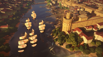 Fotograma de la película de animación 'Elcano, la primera vuelta al mundo'