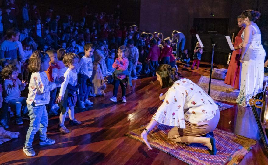 Aula de Música 18/19: Uauatxua y presentación de la Temporada