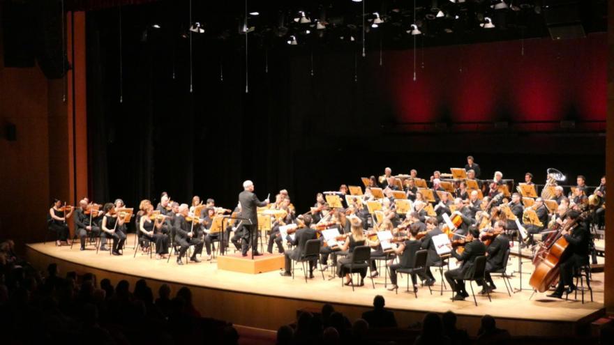 Euskadiko Orkestra brilló en su estreno en Estambul
