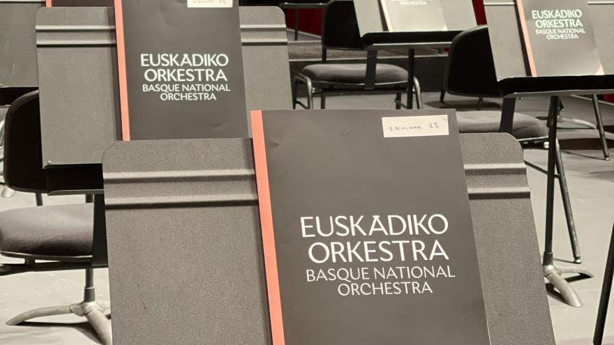 Euskadiko Orkestra saca a concurso la plaza de concertino