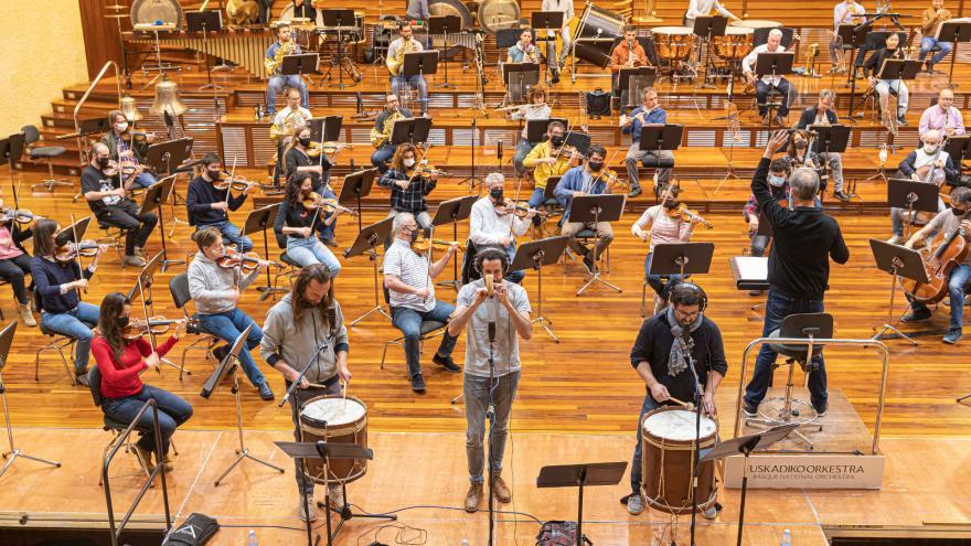 Euskadiko Orkestra y Kalakan se unen para reivindicar la música tradicional vasca
