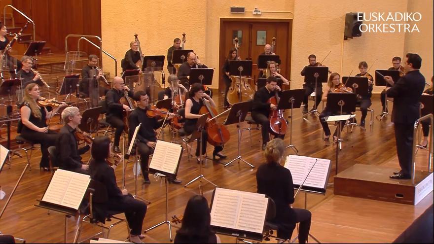 Este sábado a las 11:00 ETB2 emite el quinto concierto de 'Euskadiko Orkestra Martxan!'