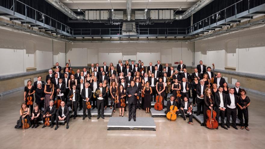 Nueva foto oficial de la Orquesta Sinfónica de Euskadi