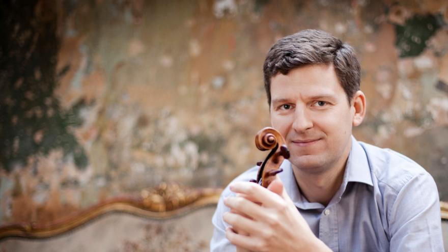 El gran violinista canadiense James Ehnes, en el siguiente programa de conciertos de la Orquesta Sinfónica de Euskadi