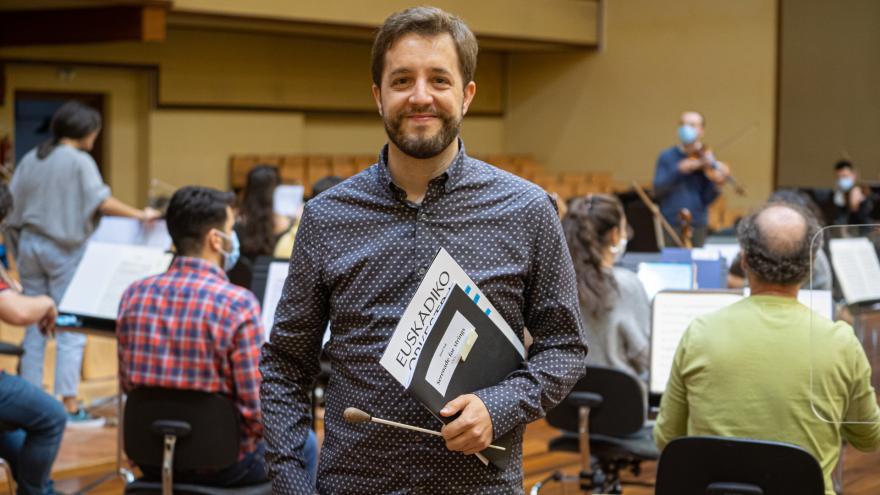Jaume Santonja, nuevo director asociado de Euskadiko Orkestra