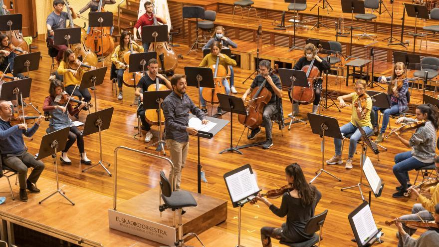 Euskadiko Orkestra y Musikene forman una orquesta única para un concierto extraordinario