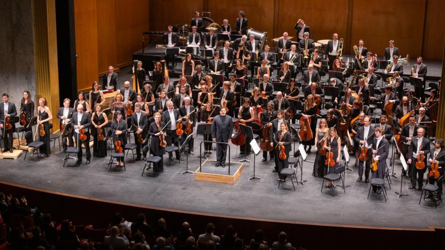 Emocionante estreno de la Orquesta Sinfónica de Euskadi en el Théâtre des Champs-Élysées de París