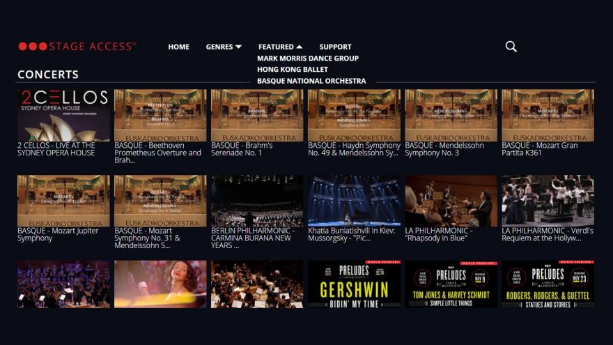 Euskadiko Orkestra entra en el escenario de la televisión norteamericana